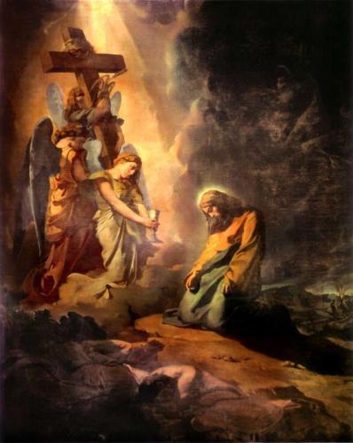 Le Christ au jardin des oliviers, de Théodore Chassériau, 1840. Musée des Beaux-Arts de Lyon.jpg